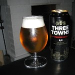 Three Towns Premium Lager, 5,2% (nr 1425)