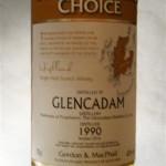Glencadam 1990 Connoisseurs Choice Gordon & MacPhail