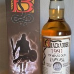 Blackadder BenRiach Raw Cask 19 (57,9%)