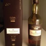 AWC – sample nr 21 (blindprov) – Talisker Destillers Edition 2000 45,8%