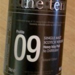 The Ten Profile 09 Heavy Islay Peat 50,1% (nr 85188)
