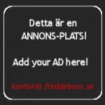 Annonsera på freddeboos.se!