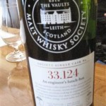 "SMWS 33.124 ""An engineer's lunch-box"" (Ardbeg 7, 59,7 %)"