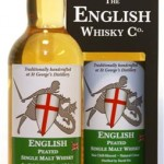 English Whisky Black Range Peated, 43%
