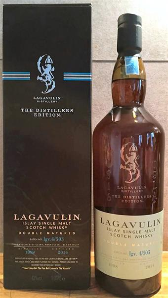 lagavulin destillers edition lgv 4