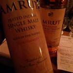Amrut Peated Indian Single Malt Aged In Oak Barrels 62,8%