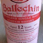 Edradour Ballechin 12 y.o 52,5% Burgundy Cask (SWF-23)