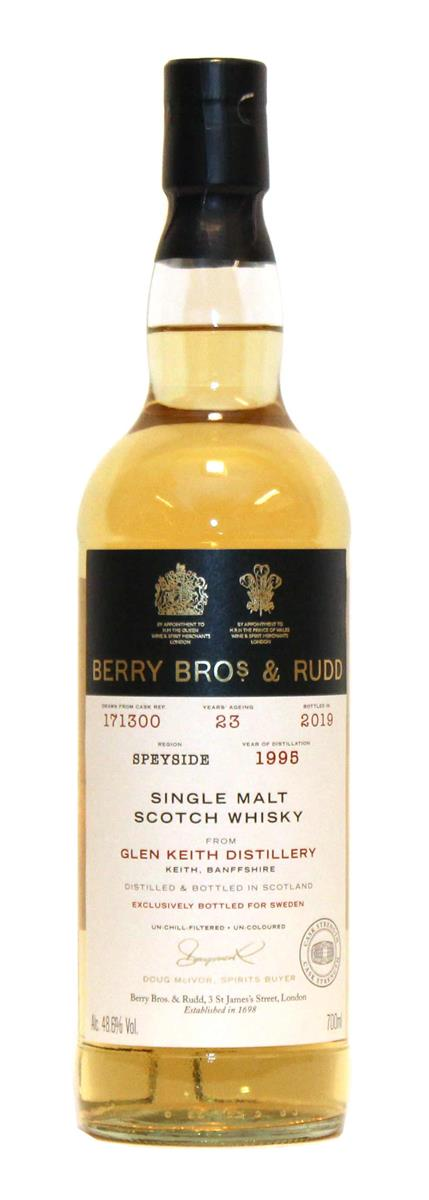 Glen Keith 1995 23yo (Berrys Own Selection, Berry Bros & Rudd) 48,6%
