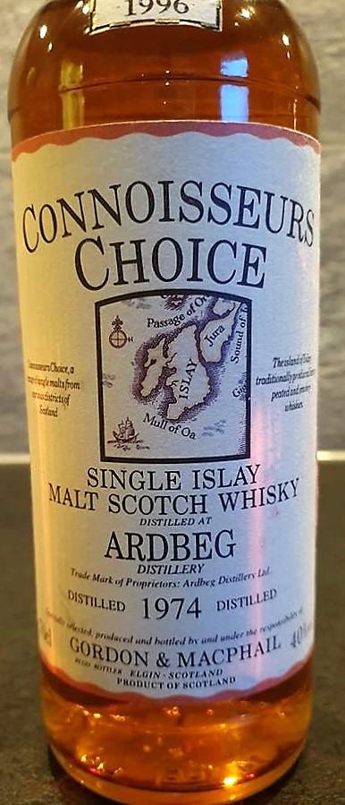 Ardbeg 1974 Connoisseurs Choice (Gordon & MacPhail) 22 y.o 40%