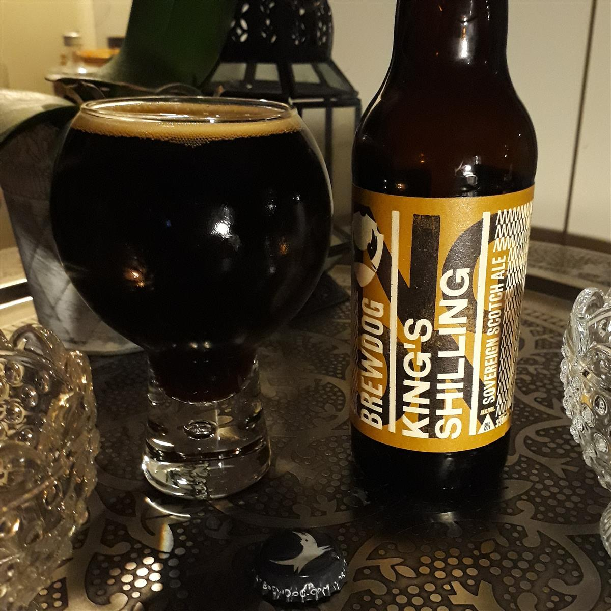 BrewDog King's Shilling (Sovereign Scotch Ale) 8%