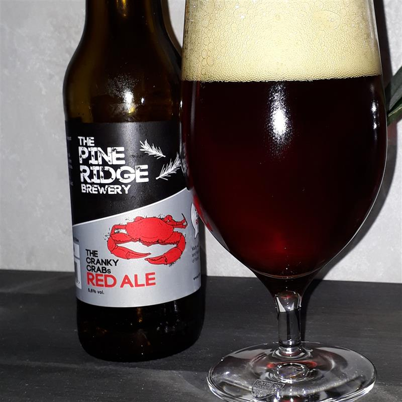 The Pine Ridge Brewery The Cranky Crabs Red Ale 5,6%