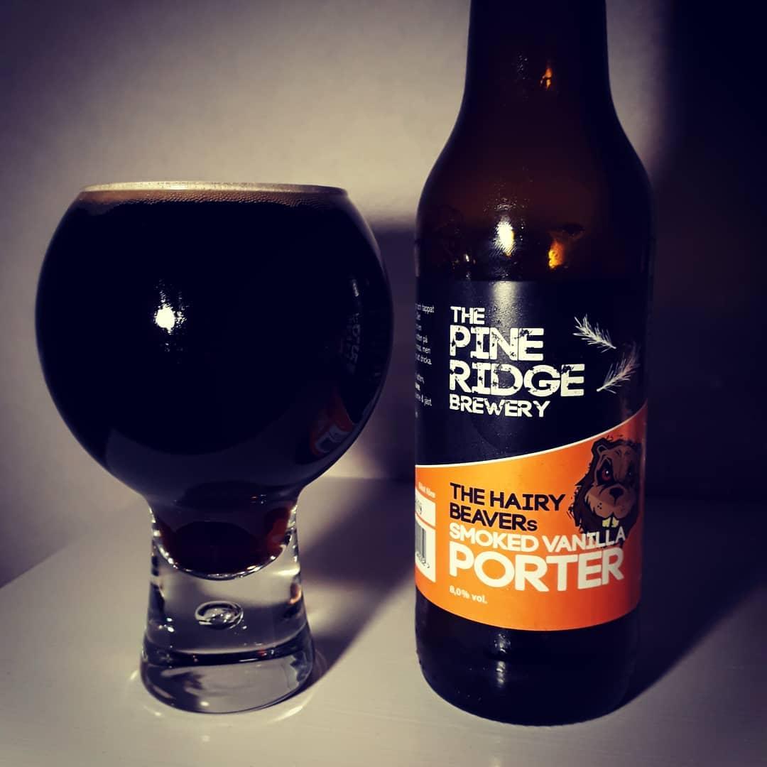The Pine Ridge The Hairy Beaver's Smoked Vanilla Porter 8%