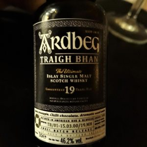 Ardbeg Traigh Bhan 19 y.o 46,2% - Bottled: During a storm