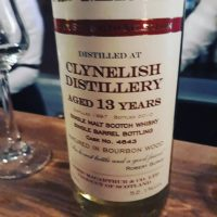 old masters clynelish 13 y.o (cask 4643, bourbon wood) 52,1%