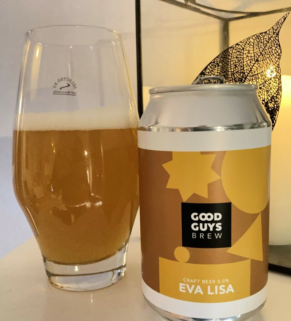 Good Guys Brew Eva Lisa Pale Ale 5,0%