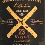 Svenska Eldvatten Sherry Cask Collection Cask 05 (1993) 23 y.o 54,2%