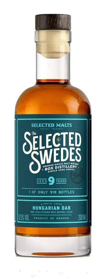 The Selected Swedes - Hungarian Oak - 9yo, 52,9%