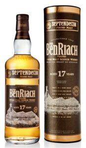 BenRiach Peated Septendecim 17 YO 46%
